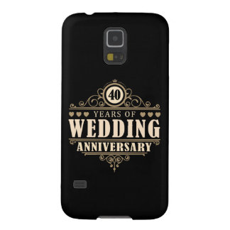 40th Wedding Anniversary Case For Galaxy S5