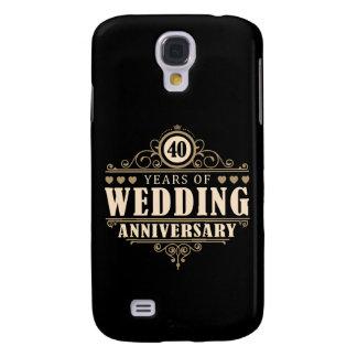 40th Wedding Anniversary Galaxy S4 Case