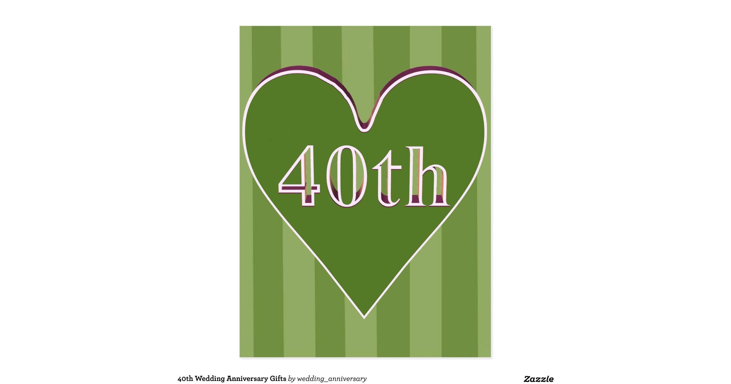 40th Wedding Anniversary Gifts Postcard R49486ad57a3c4922947904816279f90f Vgbaq 8byvr 1200