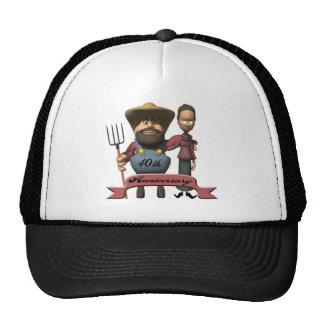 40th Wedding Anniversary Gifts Trucker Hat