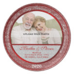 40th Wedding Anniversary Photo Plate