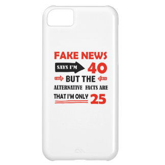 40th year old birthday gifts iPhone 5C cover