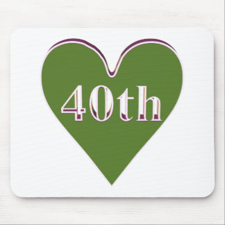 40thanniversary1t mouse pads