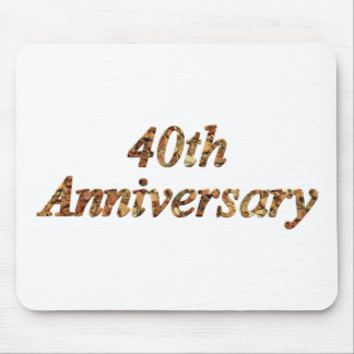 40thanniversary8t mouse pad
