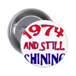 40years Old birthday designs Button