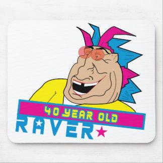 40yraver Mouse Pad