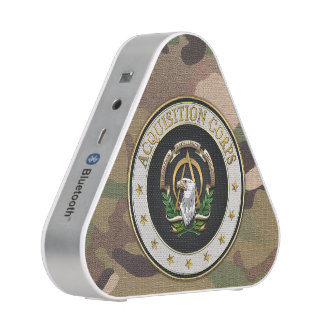 [410] Acquisition Corps (AAC) Branch Insignia [3D] Bluetooth Speaker