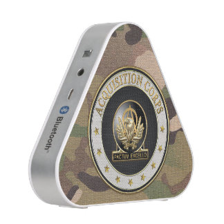 [410] Acquisition Corps (AAC) Regimental Insignia Bluetooth Speaker