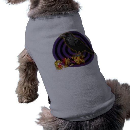 410 cuervo - camisa del perrito playera sin mangas para perro