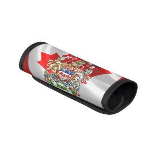 [410] Escudo de armas de Canadá [3D] Funda Para Asa De Maleta