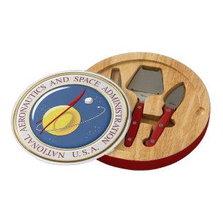[410] NASA Emblem [3D] Cheese Board
