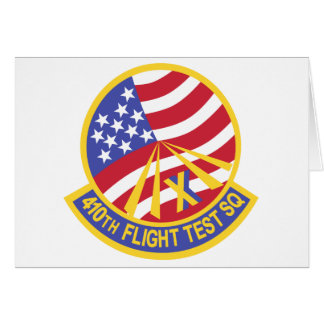 410th Flight Test Squadron Card