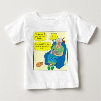 411 50 shades of light-black Cartoon Baby T-Shirt
