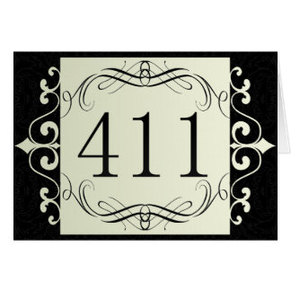 411 Area Code Greeting Cards