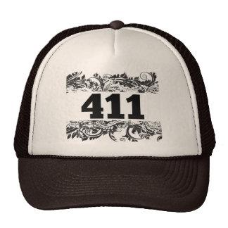 411 TRUCKER HAT