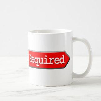 411 - Length Required Coffee Mug