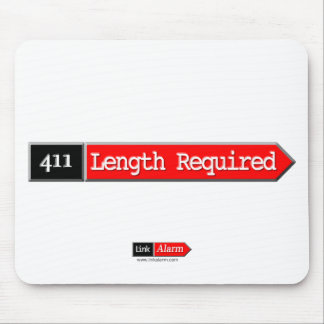 411 - Length Required Mouse Pad