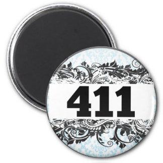 411 REFRIGERATOR MAGNETS