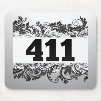 411 MOUSE PADS