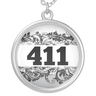 411 CUSTOM NECKLACE