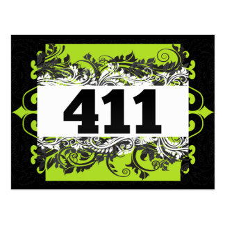 411 POSTCARD