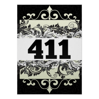 411 POSTERS