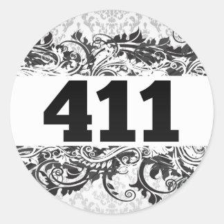 411 STICKERS