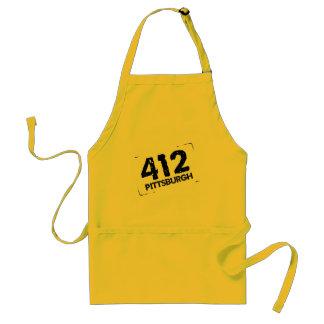 412 Pittsburgh Delantales