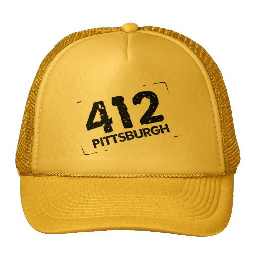 412 Pittsburgh Gorra