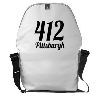 412 Pittsburgh Courier Bags