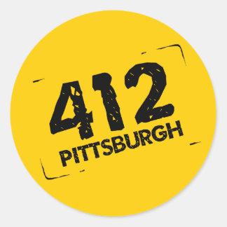412 Pittsburgh Etiquetas