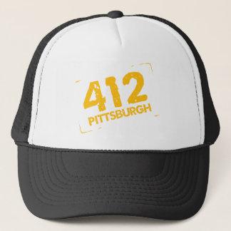 412 Pittsburgh Trucker Hat