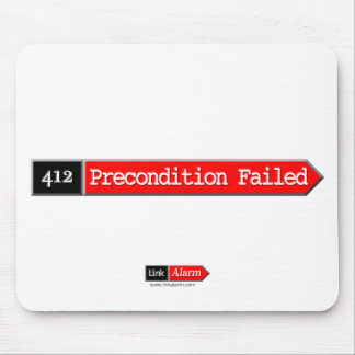 412 - Precondition Failed Mouse Pad