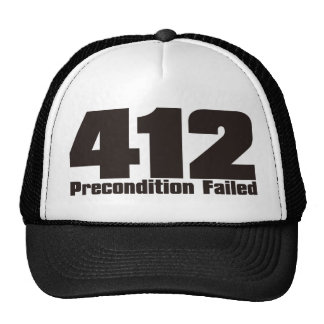 412 TRUCKER HAT