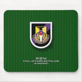 412th Civil Affairs Battalion - Airborne Mouse Pad