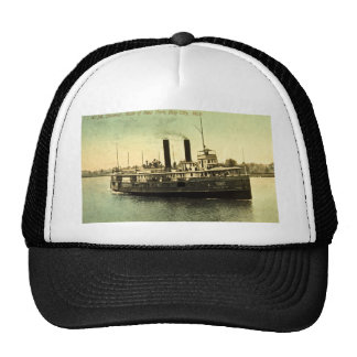 4134 Steamer, State of New York, Bay City, MI Trucker Hat