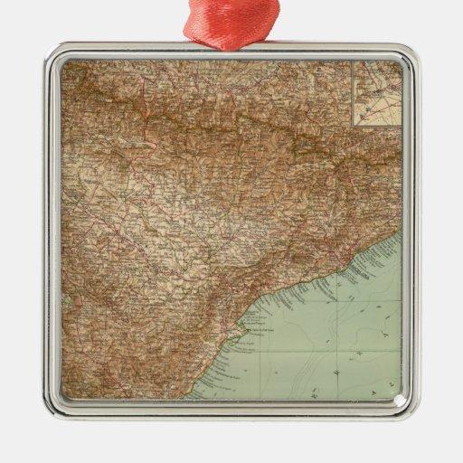 4142 España, Portugal, del este Ornamento Para Arbol De Navidad