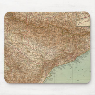 4142 Spain, Portugal, Eastern Mouse Pad