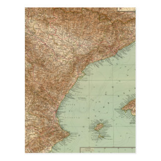 4142 Spain, Portugal, Eastern Postcards