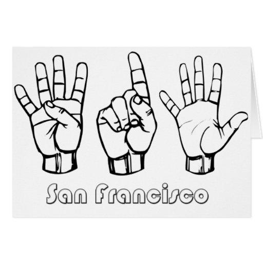 415 - San Francisco Card