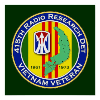 415o RRD 2 - ASA Vietnam Póster