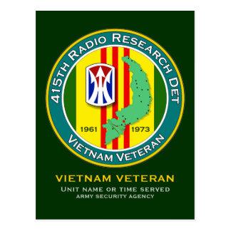 415th RRD 1 - ASA Vietnam Postcard