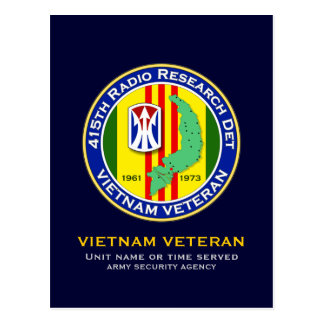415th RRD 2 - ASA Vietnam Postcard