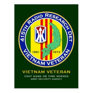 415th RRD 3 - ASA Vietnam Postcard