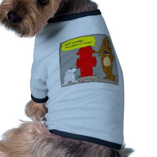 416 quiera venir a mi dibujo animado del lugar ropa de mascota
