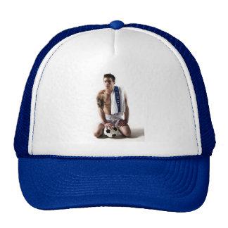 41873a Soccer Jock Mesh Hat