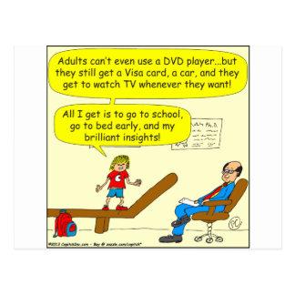 418 adultos biselan el dibujo animado del tarjetas postales