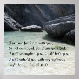 41:10 de Isaías Póster
