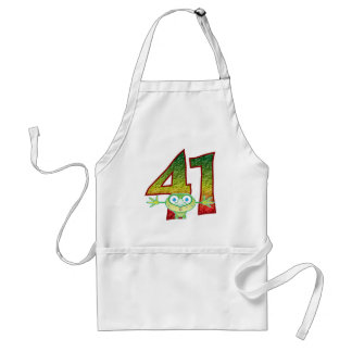 41 Age Ghoul Adult Apron