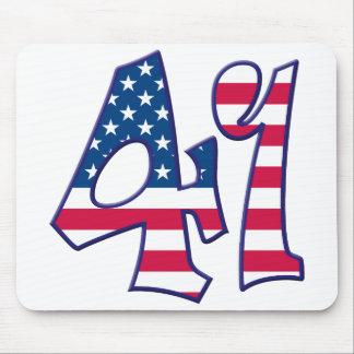 41 Age USA Mouse Pad